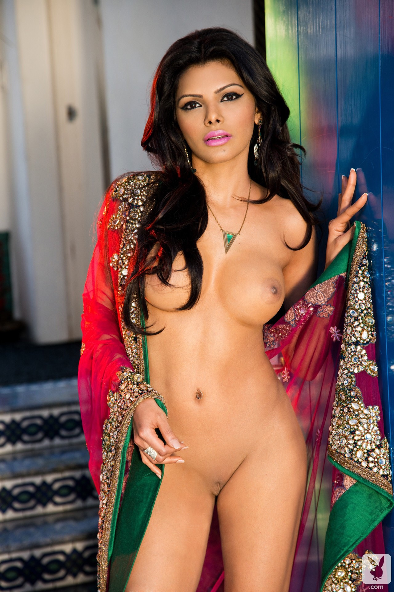 Sherlyn Chopra Playboy Full Set  Ashjokess Blog-4052